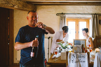 Lauren & Karl's vintage wedding at the Barn at Brynich by Aled Garfield Photography